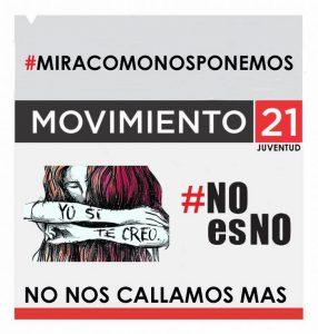 #MIRÁCÓMONOSPONEMOS | MUJERES DE LA JUVENTUD MOVIMIENTO 21