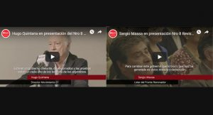 PRESENTACIÓN DE LA REVISTA N°8 | MIRÁ LOS DISCURSOS DE QUINTANA Y MASSA
