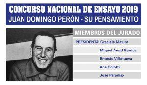 JUAN DOMINGO PERÓN: SU PENSAMIENTO | CONCURSO DE ENSAYO